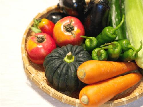 緑黄色野菜は中身まで色がついている野菜を指す